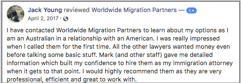 Worldwide Migration Partners Visa Experts, review